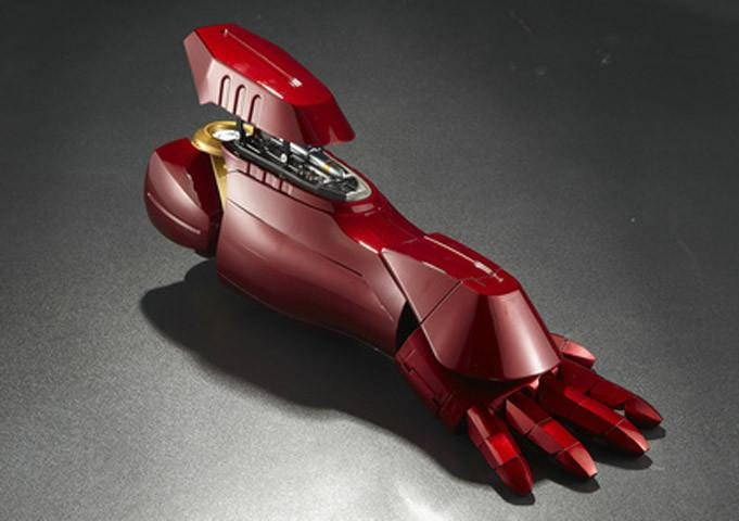 Wearable Right Arm & Palm  1:1 Iron Man MK7