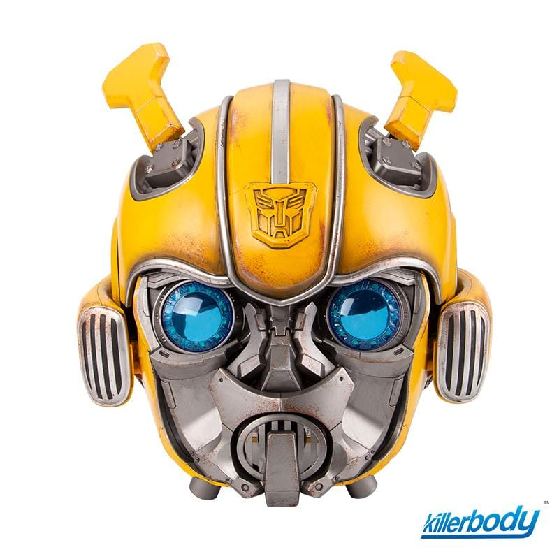 Wearable Bumblebee Helmet w/Speaker Standard Version Chinese Voice Control & 2.4G Remote Control