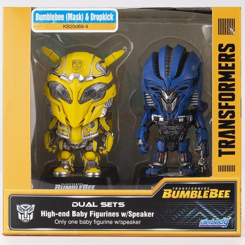 Baby Figurines w/Speaker  Bumblebee (Mask) & Dropkick