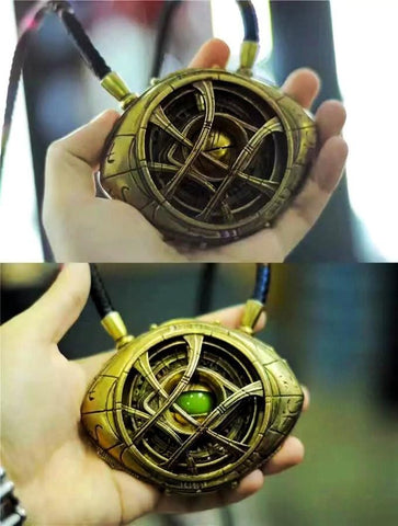 1:1 Doctor Strange Eye Of Agamotto (Necklace)