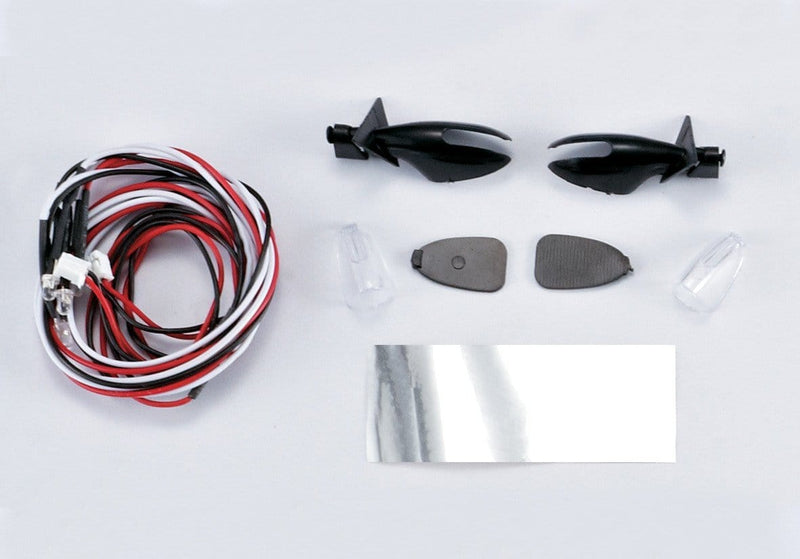 Wing Mirror W/LED Unit Set( Fit for 1/10 Touring Car)