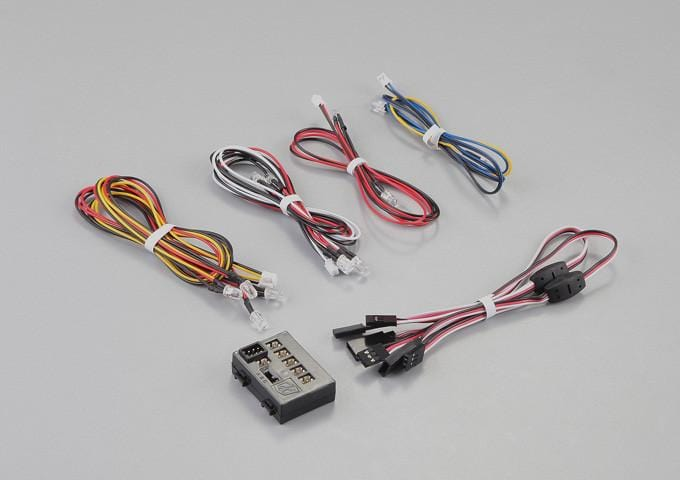 LED Light System w/Control Box (12 LEDS) (Fit for 1/10 RC  Car)