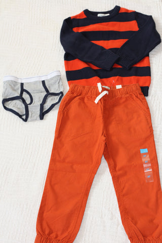 Size 5T boys outfit #2.  Fall/winter