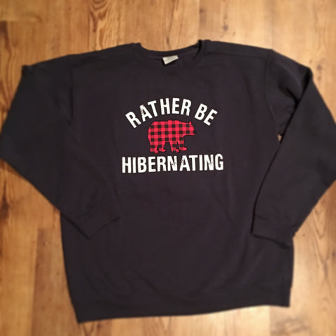 Rather Be Hibernating CC Sweatshirt