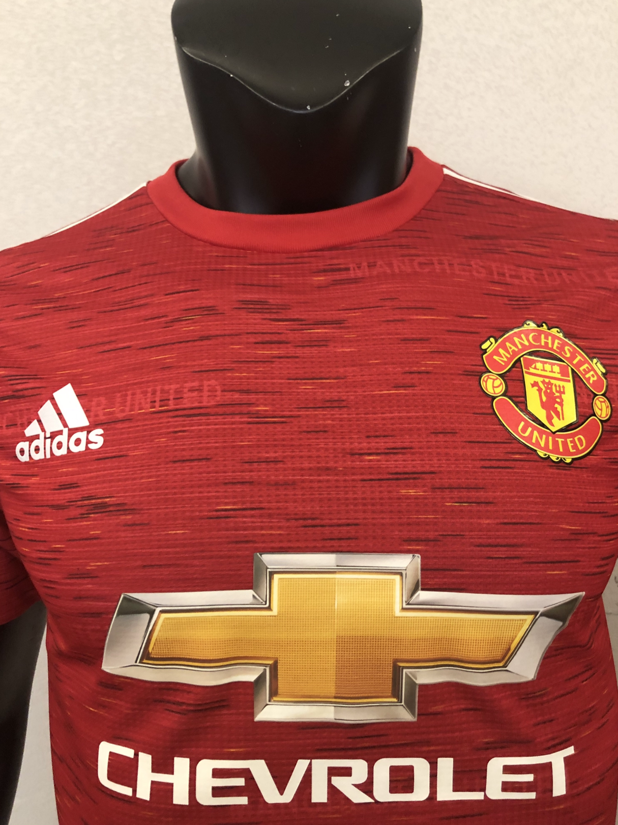 <Manchester United Home 20/21 Player's Version>