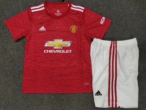 <Manchester United 20/21 Home Youth Kit>