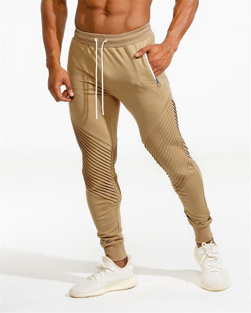 .Squat Statement Joggers - Beige
