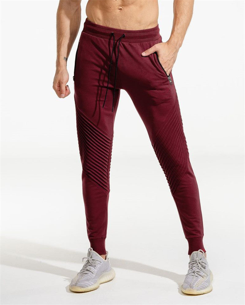 .Squat Statement Joggers - Red