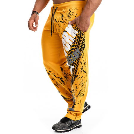 .Warrior Statement Joggers - Yellow
