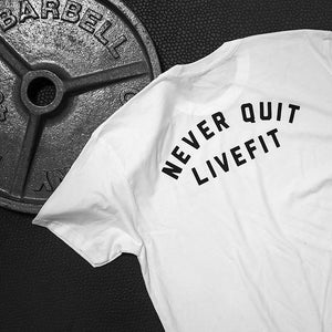 Arriving Soon - 'Never Quit' Athleti-Fit™ Tee
