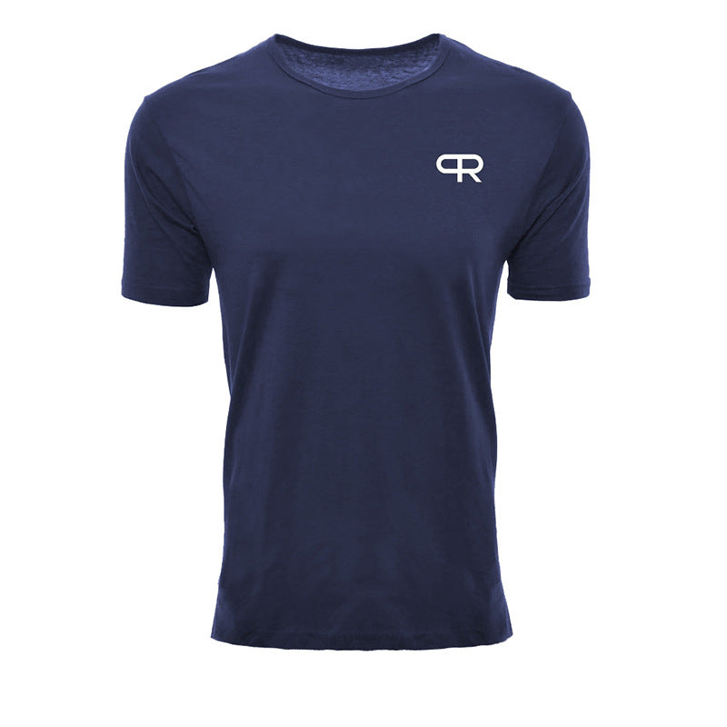 .Basic R Gym Seamless Short Sleeve - Blue