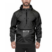 Butz Zip Up Hoodie (Charcoal)