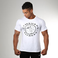 Shark Fitness Tee (White)
