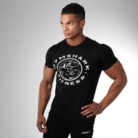 Shark Fitness Tee (Black)