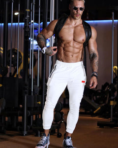Butz Fit Joggers (White)