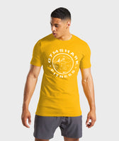 Shark Fitness Tee (Yellow)