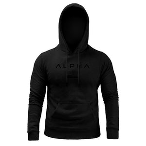 ALPHA Hoodie Jacket (Full Black)