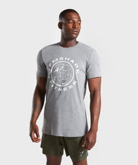 Shark Fitness Tee (Grey)