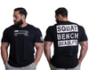 Rebel Tee - Squat, Bench, Deadlift (Dark)
