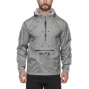 Butz Zip Up Hoodie (Grey)