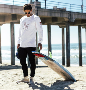 Athelete Long Sleeve - (White)
