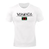 DOMS - Wakanda Flag Athleti-Fit™ Tee - White