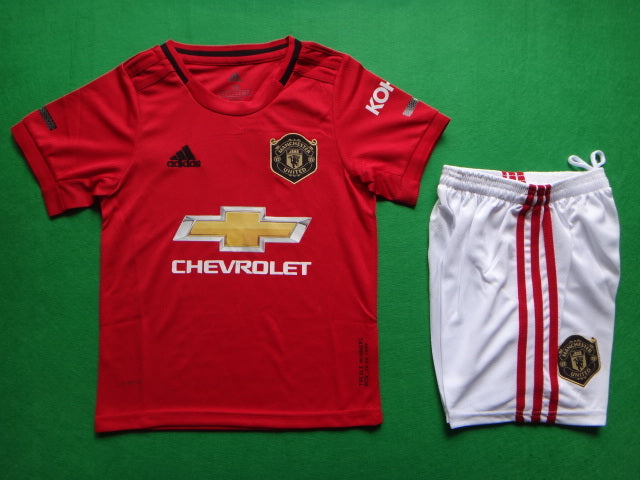 Manchester United 2019-20 Home Youth Kit