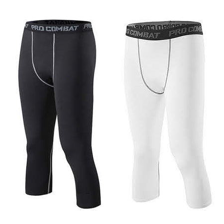Pro Combat 3/4 Bottom Compression Tights