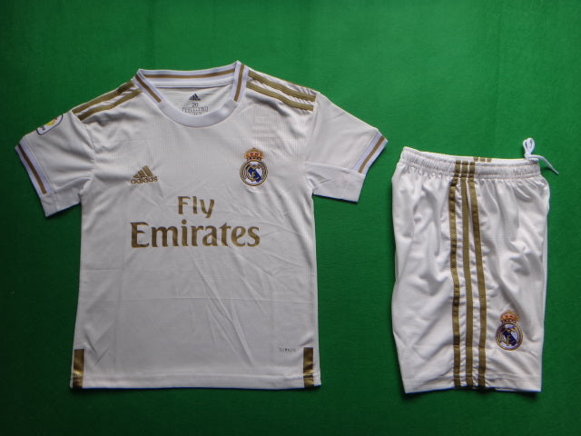 Real Madrid 2019-20 Home Youth Kit
