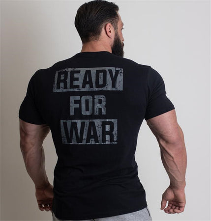 Rebel Tee - Ready For War (Black)