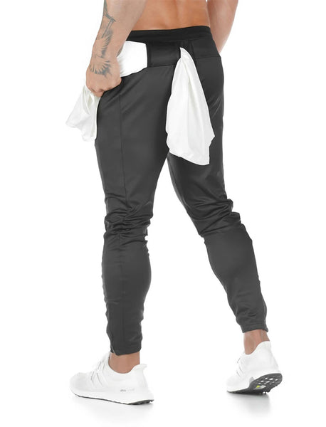 Statement Update Joggers - (Black)