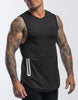 Hype Gym Tank - (Black)