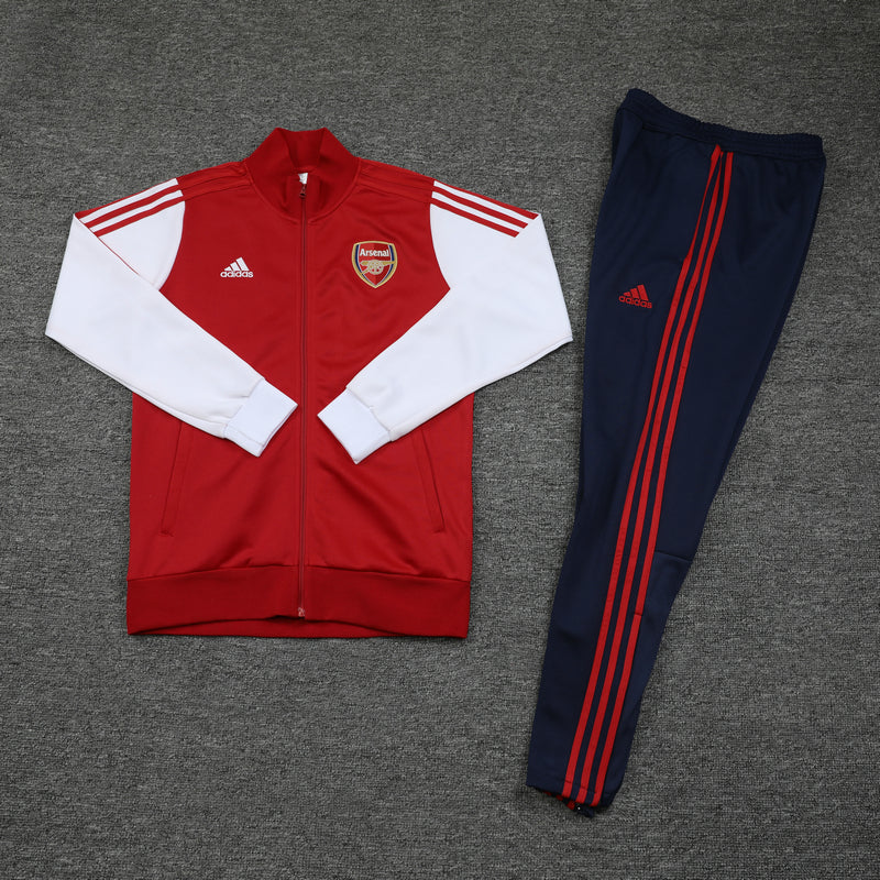 Arsenal 20/21 FULL-ZIP TRACK JACKET (PANTS SOLD SEPERATELY)