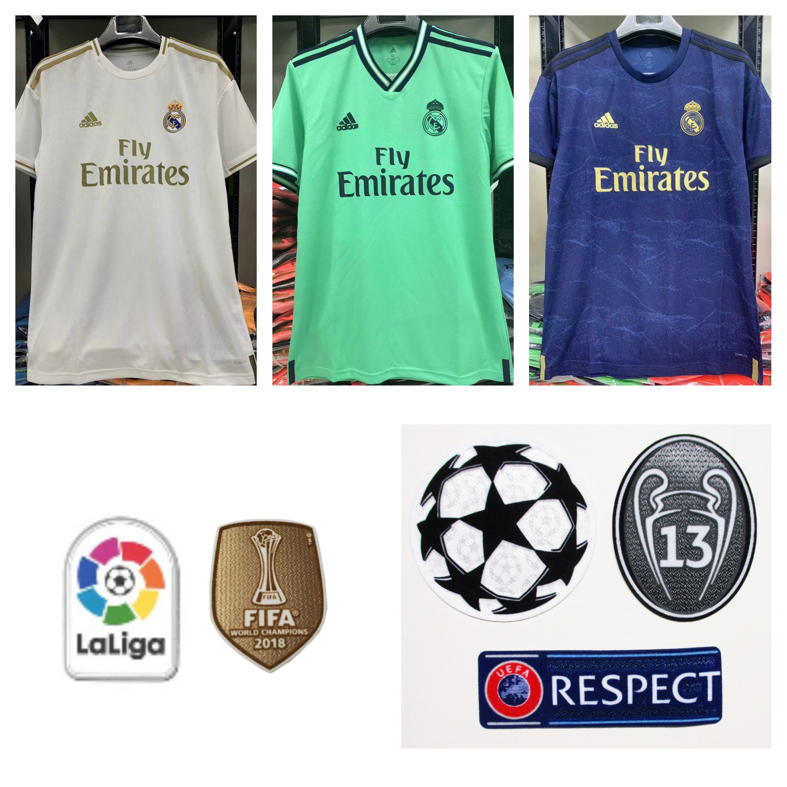 Real Madrid 2019-20 Away Youth Kit