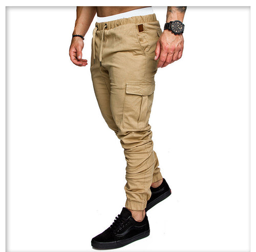 Cotton Cargo Pants (Ochre)