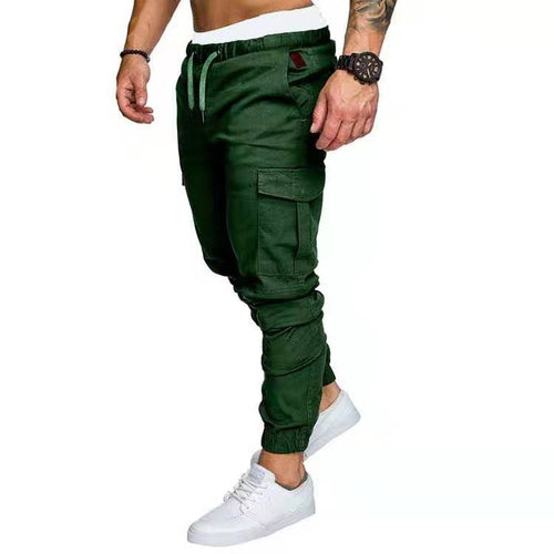 Cotton Cargo Pants (Green)
