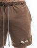 .ECHT Basic Gym Shorts - Brown
