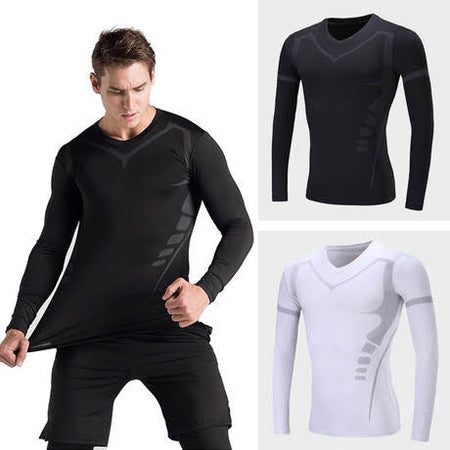 Elite Long Sleeve Top Compression Tights