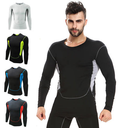 Pro Combat Long Sleeve Top Compression Tights