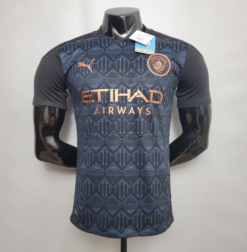 <Manchester City Away 20/21 Player's Version>