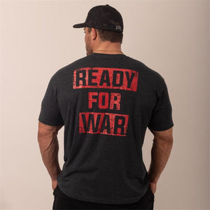 Rebel Tee - Ready For War (Red)