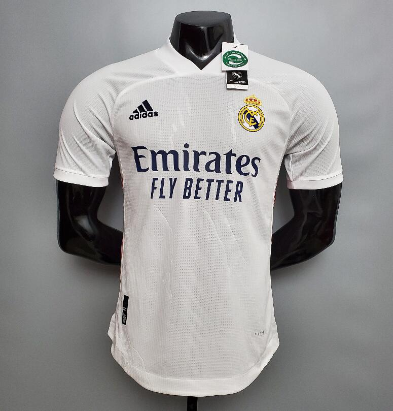 <Real Madrid Home 20/21 Player's Version>