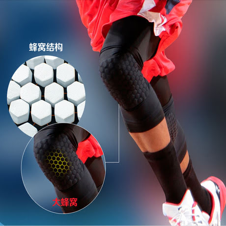 Padded Compression Tights Leg Sleeve