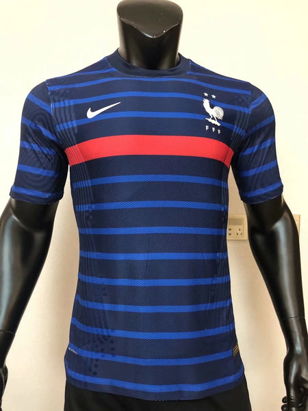 player version 20-21 France home soccer jersey size S-2XL