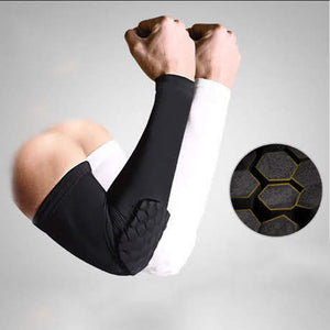 Padded Compression Tights Arm Sleeve