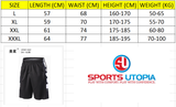 L - Elite Black Basketball Pants