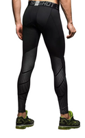 Hyperlight Pro Combat Silver Long Bottom Compression Tights