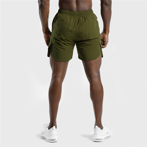 A2-IN-1 Dry Tech Shorts - (Green)