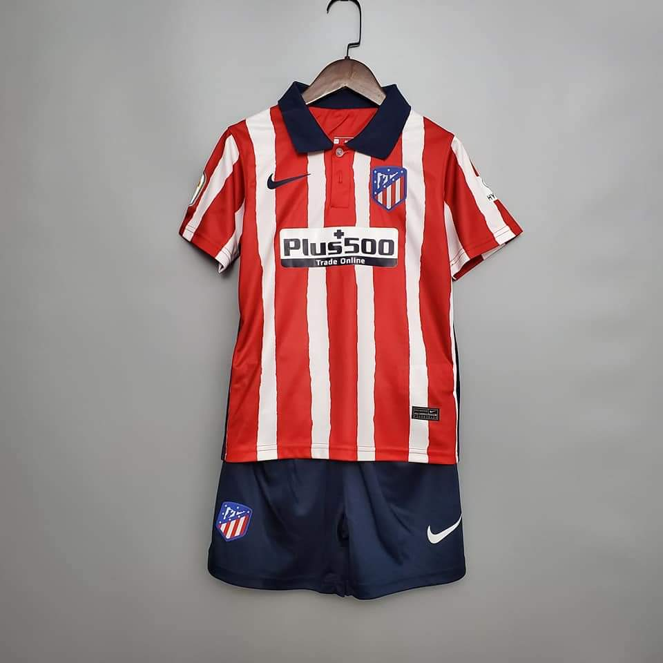 <Atletico Madrid 20/21 Home Youth Kit>