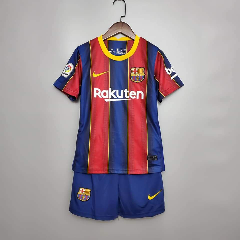 <Barcelona 20/21 Home Youth Kit>